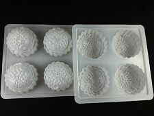 Plastic mould moon cake chrysanthemum goldfish shell fruit square crafting new
