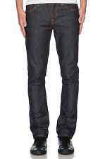 Nudie Men Jeans 111304 Grim Tim Dry Navy size 31 x 34 NWT