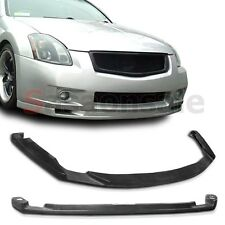 Made for 2007-2008 Nissan Maxima 4dr JDM Spec-A Front PU Bumper Lip