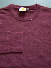 Carhartt Playoff Sweater Men's Small XS Extra Purple Crew Jumper Vtg ITAX230