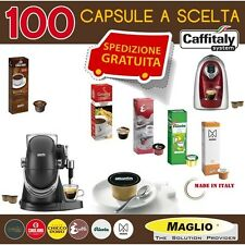 100 CAPSULE CAFFE' CAFFITALY A SCELTA. CHICCO D'ORO / CAGLIARI / E' CAFFE'