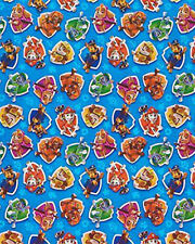 PAW PATROL WRAPPING PAPER ROLL GIFT WRAP ANY OCCASION 12.5 SQ. FEET