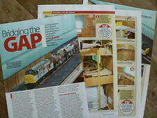 Building a lift out bridge for crossing entrance doors - Hornby Magazine article