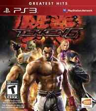 PS3 STRATEGY-TEKKEN 6  PS3 NEW