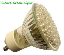 GU10 80 LED 240V 4W 160LM WARM WHITE BULB ~40W
