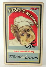 YORKY'S KITCHEN~VINTAGE TIN SIGN