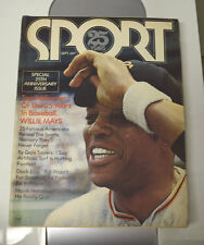 1971 Sport Magazine - Willie Mays San Francisco Giants cover 25th Ann.