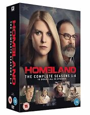 HOMELAND COMPLETE SERIES DVD BOX SET COLLECTION SEASON 1 2 3 4 Sealed HOME LAND