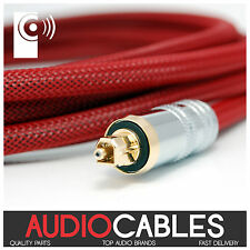 1.5m PRO MASTER TOSLink CABLE (Digital Fibre Optic Audio Cable) TcR2 THATS AUDIO