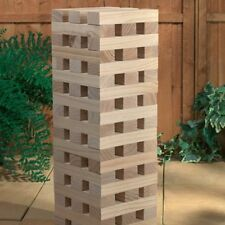 Wooden Giant Jenga Tower Garden, Party, BBQ Game (1.2m / 60 Pieces)