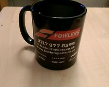 Black Fowlers Motorcycle Parts Coffee Mug - NEW