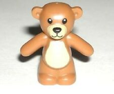 LEGO TEDDY BEAR ~ Minifigure Minifig Light Brown Toy Animal Pet  *** NEW ***