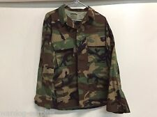 NEW USGI US MILITARY WOODLAND BDU TOP COAT JACKET COLD WEATHER SIZE MEDIUM REG