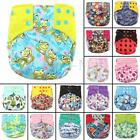 Baby Cover Wrap Washable BAMBOO Pocket Nappy Cloth + Reusable Insert Diaper