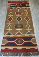 "Vintage Turkish Kilim Rug,Floor Rug,Runner Rug,Wool 30"" x 72"" Antique Rug,Carpet"