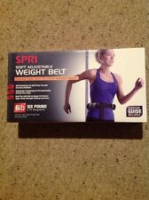 New Spri Soft Adjustable Weight Belt NIB