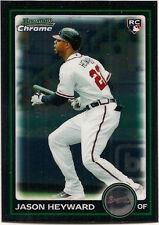 2010 Bowman Chrome Draft Jason Heyward Atlanta Braves #BDP40 Baseball Card