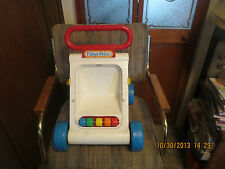 FISHER PRICE RARE Infant Learn to Walk Push Toy Walker Baby Practice Walking