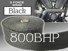 BLACK HEAT WRAP - 50mm x 30M (Exhaust Bandage) HIGH QUALITY UK MANUFACTURED