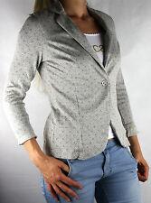 PLEASE J908 Jacke Boyfriend Blazer Kultmarke aus Italy Gr.S Grigio