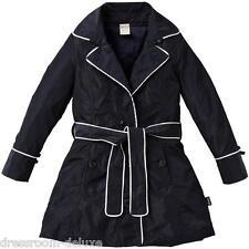 NEU Jottum BIARRITZ Trenchcoat Mantel 110-116 4-6Y UVP179€ coat manteau S15 navy