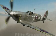 WW2 Photo Spitfire 303 squadron flown by Sqn.Ldr. Jan Zumbach Donald Duck #002