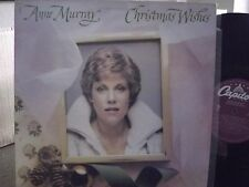 ANNE MURRAY CHRISTMAS WISHES LP ON  CAPITOL RECORDS PURPLE LABEL