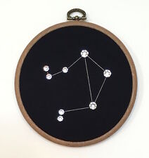 LIBRA made with Swarovski Crystals - Handmade Constellation Zodiac Wall Art