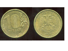 RUSSIE   10  roubles 2011