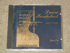 DUANE FUNDERBURK Opus One A Collection of Friends & Music (CD,Music,Classical)