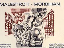 MALESTROIT MORBIHAN    FRANCE Document Philatélique Officiel  2689
