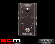 MESA BOOGIE HIGH-WIRE DUAL BUFFER AND OUTPUT BOOST GUITAR FX PEDAL