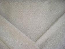 4y PINDLER GREY / SILVERY WHITE STRANDS DRAPERY UPHOLSTERY FABRIC