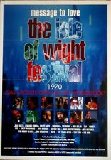 ISLE OF WIGHT 1970 - 1997 - Filmplakat - Hendrix - Doors - Dylan - Who