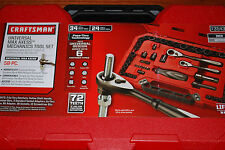 NEW Craftsman 58 pc Inch/Metric Universal Max Axess Mechanics Tool Set with Case