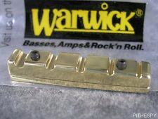 NEW LEFT HANDED WARWICK BRASS JUST A NUT III 5S 5 STRING BASS THUMB CORVETTE