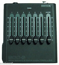 CENTRALINA MANUALE DMX A BATTERIA SDC 6 CANALI BOTEX EFFETTO LUCI LED DIMMER