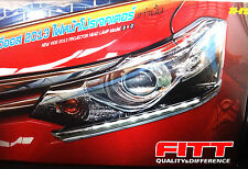 FITT LED DAYTIME RUNNING LIGHT TRIM FOR NEW TOYOTA VIOS 4DOOR SEDAN 2013-2014