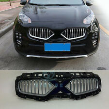 For Kia Sportage 2016-17 Refit Aluminium Front Mesh Front Grille Grill Vent Bars
