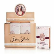 Papier Poudre Oil Blotting Papers - Rose 1 Box (12 Booklets)