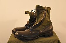 12.5 XN BELLEVILLE  USGI JUNGLE BOOTS - 1987 DATED - PANAMA SOLE - UNISSUED