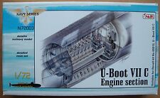 "CMK N72003 Detail Set ""Engine Section"" für U-Boot VIIC Revell® 05015 in 1:72"