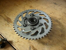 SUZUKI   GSX550  EF   REAR SPROCKET CARRIER + NEARLY NEW REAR SPROCKET