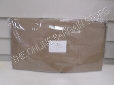 Pottery Barn Tie Front Loose Fit Slipcover Furniture Cover Large Sofa Walnut