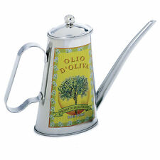 Norpro 2-Cup Vintage Stainless Steel Oil Vinegar Dressing Can w/ Dripless Spout
