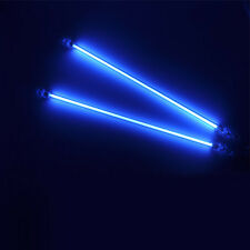 Blue Car Auto CCFL Neon Tube Light Interior Undercar Underbody Lamp Kit 4pcs
