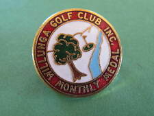 Willunga Golf Club Inc Monthly Medal Badge