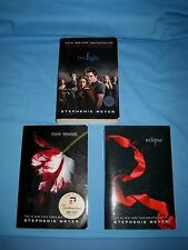 Lot 3 Book Lot by Stephenie Meyer TWILIGHT Series New Moon Eclipse !