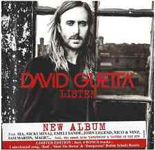 DAVID GUETTA - LISTEN: CD - Limited Deluxe Edition 2CD + 8 Bonus Tracks