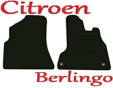 Deluxe Quality Car Mats for Citroen Berlingo Van 08 Onwards ** Tailored for Perf